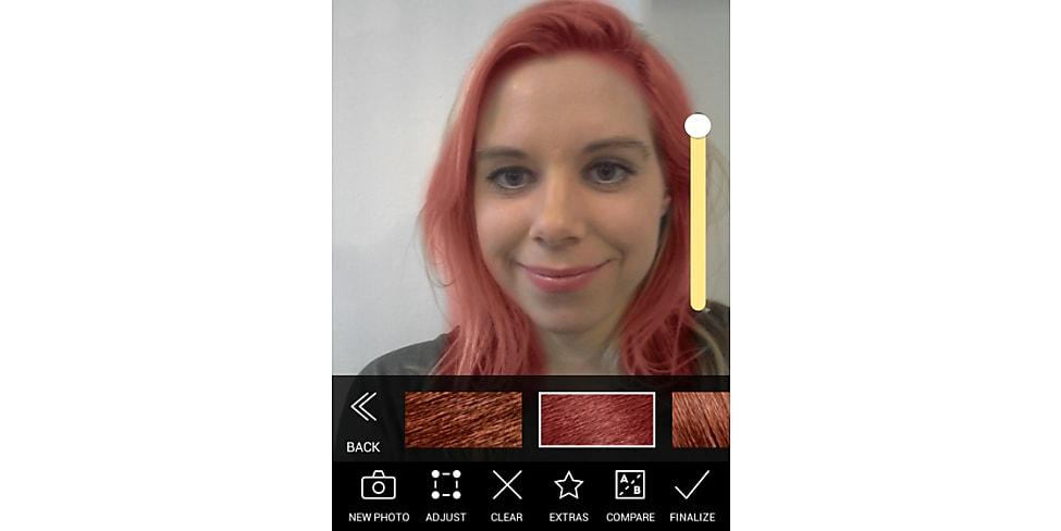 Haarfärbe App Modiface Hair Color Im Test Stylight