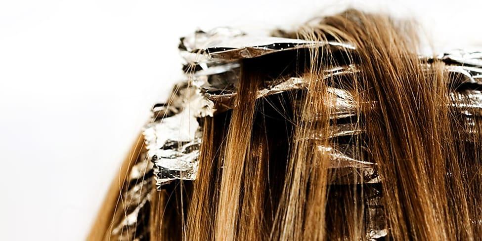 Haare machen highlights selber Strähnchen ganz