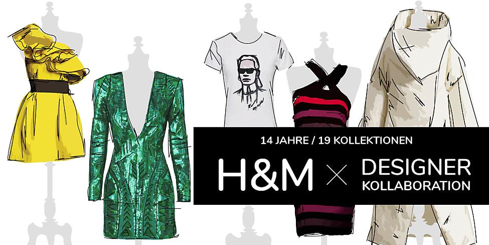 55346ee428cf 14 Jahre H&M Kollaborationen - Funfacts der 19 Kollektionen | Stylight