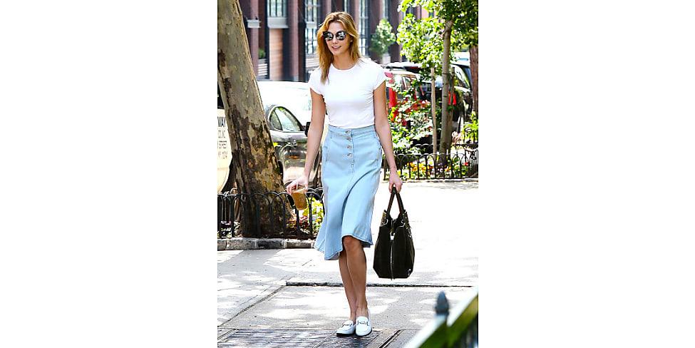Midi-Jeansröcke sind die perfekte Jeans-Alternative   Stylight 27e6f65304
