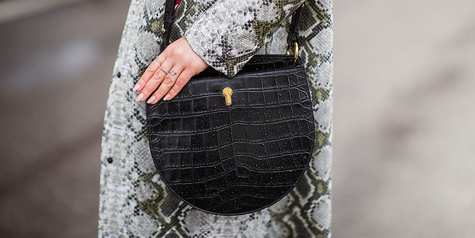 Snakeskin Is The New Black | Stylight