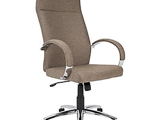 LumiSource WOYBR OFC-AC-MSTF BN Fabric, Metal, Foam Master Office Chair