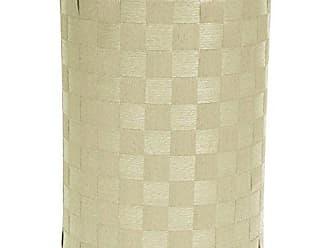 Oriental Furniture 26 Natural Fiber Laundry Hamper - White
