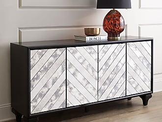 Dark Wood Mirrored Credenza : Sideboards in black: 19 items − sale: at usd $176.83 stylight