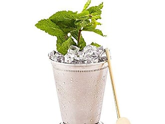 Restaurantware 5-inch Reusable Stainless Steel Drink Spoon Straw: Perfect for Bars and Restaurants - Copper Plated Julep Spoon Cocktail Straw - Rounded Design Suitable for Children - 2-CT - Restaurantware
