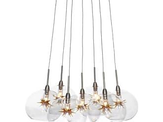ET2 E20114-LQ Starburst 12 7 Light Pendant Amber Stars Indoor