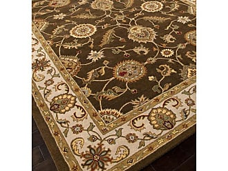 Jaipur Living Rugs Jaipur Mythos Maia Traditional Oriental Pattern Wool Tufted Rug Cocoa Brown - RUG102944