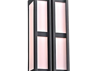 PLC Lighting 16634 2 Light 8.75 Wide Outdoor Wall Sconce from the