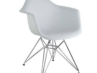 Rivatti Cadeira Infantil Eiffel Eames DAR Branca