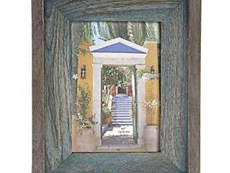 Deco 79 79061 Gray and Brown Double-Layered Wooden Picture Frame, 10 x 8