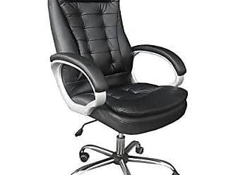 Pelegrin Cadeira presidente Pel-1693h em couro pu preta - Pelegrin