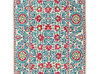 Solo Rugs Hand Knotted Area Rug 41 x 61 Blue