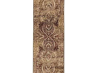 Home City Inc. Superior Designer Salford Runner Rug, 2 7 x 8, Maroon