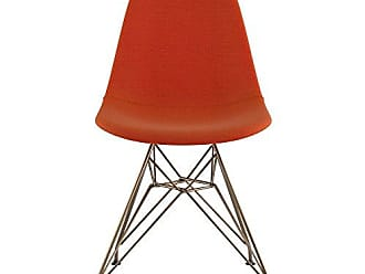 NyeKoncept 331004EM2 Mid Century Eiffel Side Chair, Lava Red