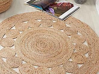 Simons Maison Braided jute rug 120 cm round