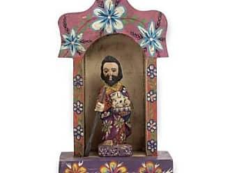 Novica Pinewood sculpture, Saint Francis Shrine