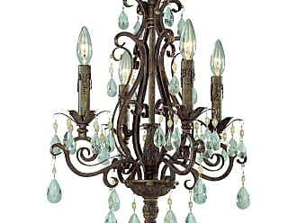 Craftmade Jeremiah Englewood 4-Light Up Chandelier in French Roast