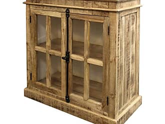 StyleCraft Rustic 2 Door Accent Cabinet - ISF24491DS