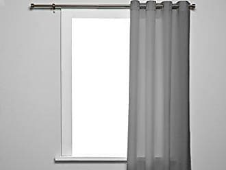 Umbra Elm Drapery Panel, Stone Grey, Curtains/Drapery Panels, 54x84 inches, Machine Washable Curtains/Drapes (Single Panel)