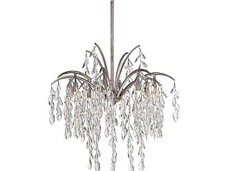 Metropolitan Bella Flora 25 8-Light Pendant in Silver Mist