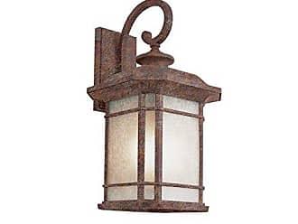 Trans Globe Lighting PL-5820 RT Outdoor San Miguel 12.75 Wall Lantern, Rust