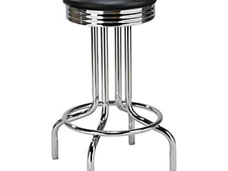 Regal 26-Inch Fairfax Retro Backless Swivel Counter Stool