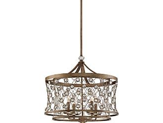 Metropolitan Vel Catena 4-Light Pendant in Arcadian Gold