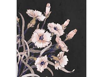 Gallery Direct Wild Flower on Black I Printed Aluminum Wall Art - 98090AP000