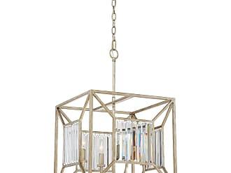Quoizel Sabrina 4-Light Cage Chandelier in Vintage Gold