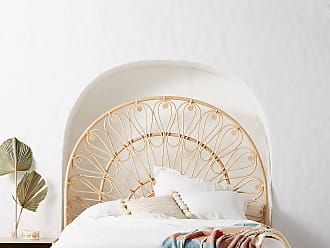 Anthropologie Looping Rattan Bed