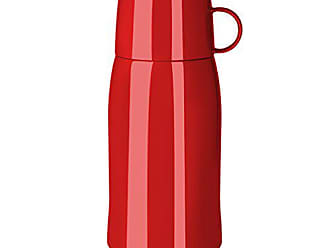 Edelstahl Isolierkanne 0,5l Thermosflasche Thermoskanne rot Farbe