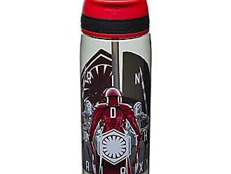 Zak designs STAF-S830 Star Wars The Last Jedi Praetorian Guard Reusable Water Bottle With Straw 25 Ounce, Multicolor, 1