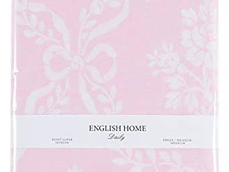 english home ribbon bouquet bettdecke rosa 160x220 cm bettwasche baumwolle 220 x 160 cm