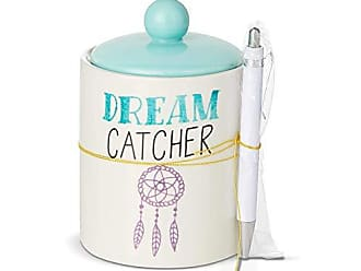 Enesco Our Name is Mud Dreamcatcher Jar Paper and Pen Set 5.875 Multicolor