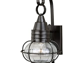 Vaxcel Lighting T0281 Chatham Brass Single Light 18 High Outdoor Wall