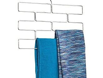 InterDesign 07340 Trio Tiered Legging Hanging Organizer for Closet - Chrome