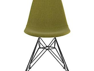 NyeKoncept 331002EM3 Mid Century Eiffel Side Chair, Avocado Green