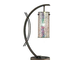 Woodbridge Lighting 13482MEB-M10IRI Eclipse Single Light 7-1/2 Wide