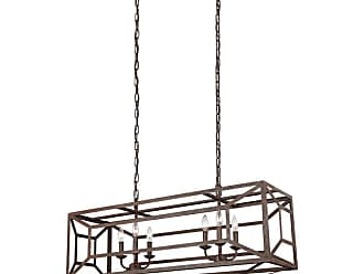Feiss F3173/6-LQ Marquelle 6 Light 42 Wide Chandelier Weathered Iron