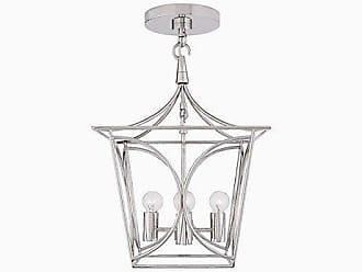 Kate Spade New York Cavanagh Mini Lantern, Polished Nickel