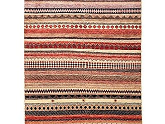 Solo Rugs Lori Hand Knotted Area Rug 4 1 x 6 3 Multi