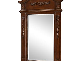 Elegant Furniture & Lighting Danville Beveled Vanity Mirror - 24W x 36H in. - VM-1005