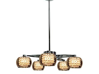 Access Lighting 52120 5 Light 22.8 Wide 1 Tier Chandelier from the