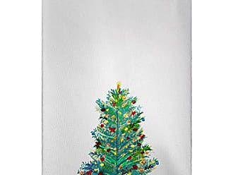 Betsy Drake GT905 Christmas Tree Guest Towel