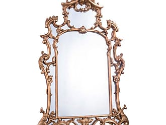 Elegant Furniture & Lighting Antique Wall Mirror - 28.75W x 48H in. - MR-2042
