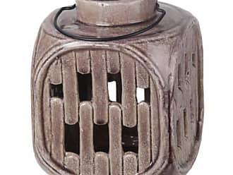 Privilege International Ceramic Lantern with Handle