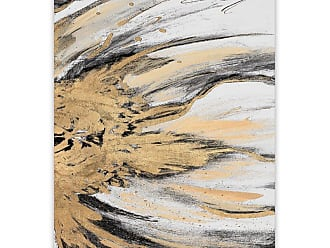 Gallery Direct Golden Flow II Printed Aluminum Wall Art - 98087AP000