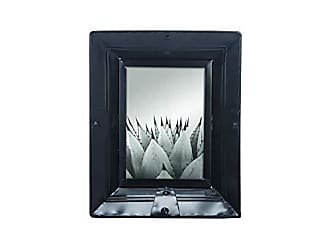 Foreside Home And Garden 5X7 Riveted Photo Frame Black 5 x 7