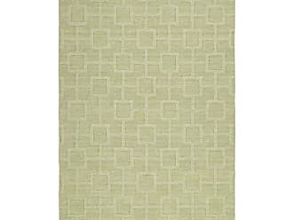 Kaleen Rugs Imprints Modern Collection IPM07-33 Celery Hand Tufted Rug, 8 x 11