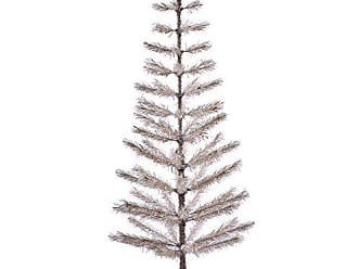 Vickerman Champagne Feather Artificial Christmas Tree, 5 x 24